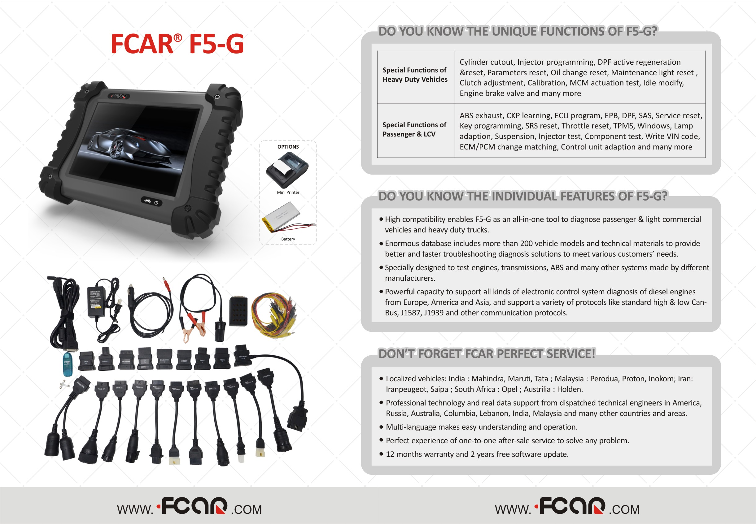 F5-G Trucks & Cars | The Industry Leader in Auto and Truck Diagnostics